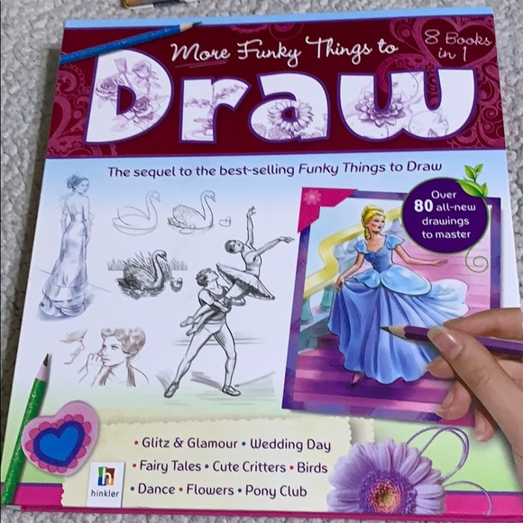 Other - Girls drawing books
